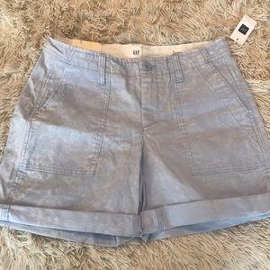Girlfriend Chino Shorts Mid Rise